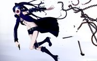Escaping Stella - Black Rock Shooter wallpaper 1920x1200 jpg