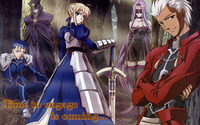 Fate/stay night: Unlimited Blade Works wallpaper 2560x1600 jpg