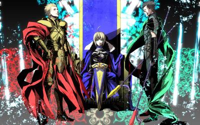 Fate/Zero heroes wallpaper