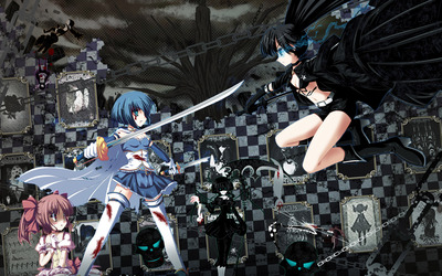 Fighting Stella - Black Rock Shooter wallpaper