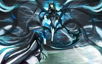 Flying Dead Master - Black Rock Shooter wallpaper 1920x1200 jpg