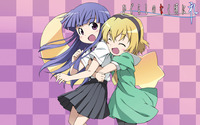 Furude Rika and Hojo Satoko - Higurashi When They Cry wallpaper 1920x1200 jpg