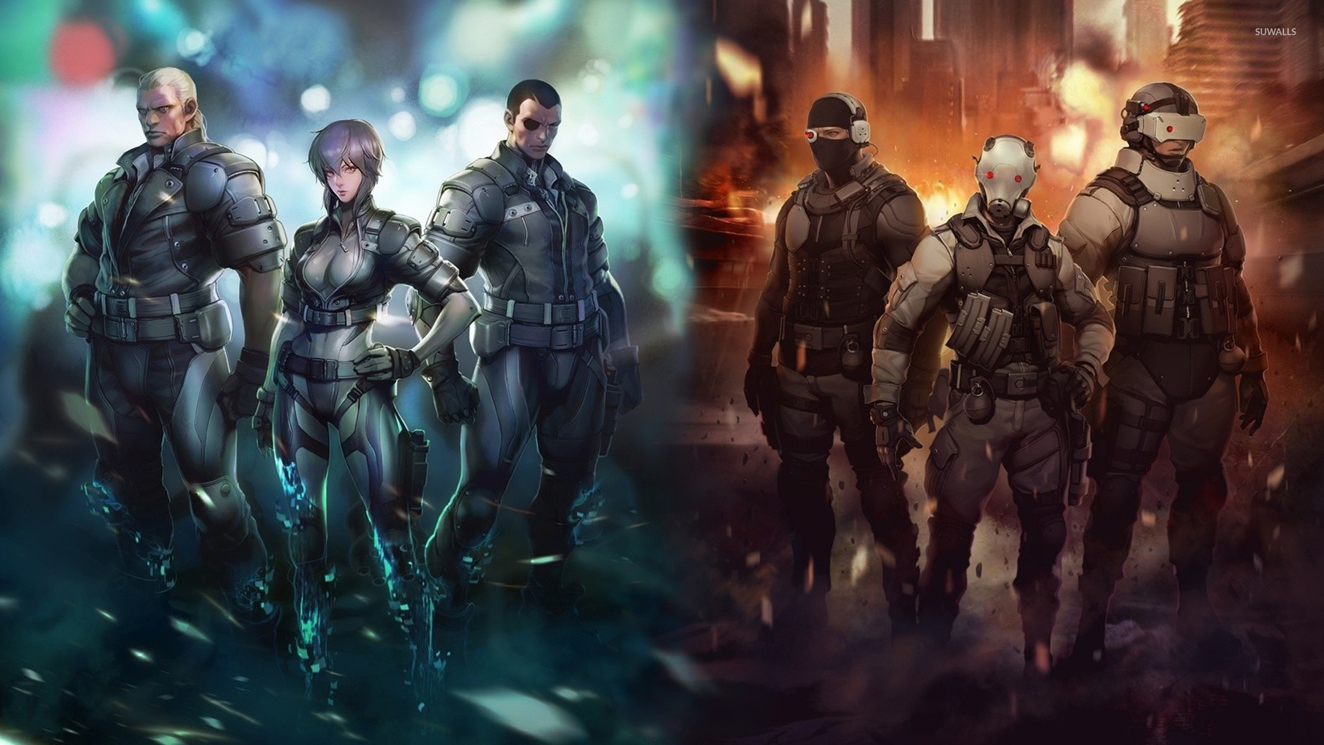 Ghost In The Shell Wallpaper Anime Wallpapers 30177