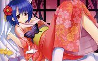 Girl in kimono wallpaper 2560x1600 jpg