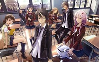 Guilty Crown wallpaper 2560x1600 jpg