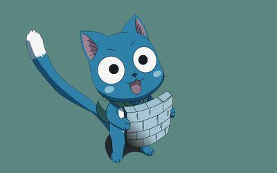 Happy - Fairy Tail [3] wallpaper