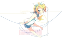 Happy Rin Kagamine in Vocaloid wallpaper 1920x1200 jpg