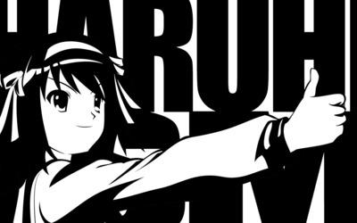 Haruhi Suzumiya - The Melancholy of Haruhi Suzumiya [6] wallpaper