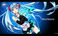 Hatsune Miku [11] wallpaper 1920x1200 jpg