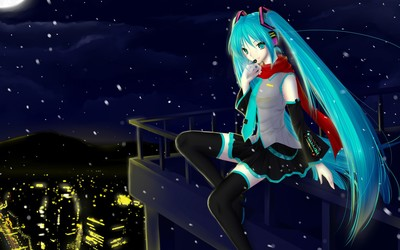 Hatsune Miku [8] wallpaper