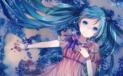 Hatsune Miku [14] wallpaper