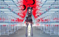 Hatsune Miku at school wallpaper 1920x1080 jpg