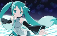 Hatsune Miku dancing - Vocaloid wallpaper 1920x1080 jpg