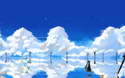 Hatsune Miku - Vocaloid [6] wallpaper