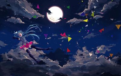 Hatsune Miku - Vocaloid [5] wallpaper