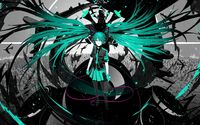 Hatsune Miku - Vocaloid [2] wallpaper 2560x1600 jpg