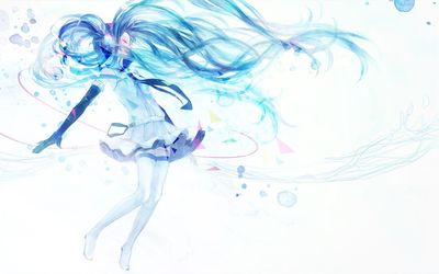 Hatsune Miku - Vocaloid [10] wallpaper