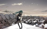 Hatsune Miku - Vocaloid [9] wallpaper 3840x2160 jpg