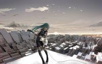 Hatsune Miku - Vocaloid [9] wallpaper 3840x2160 jpg