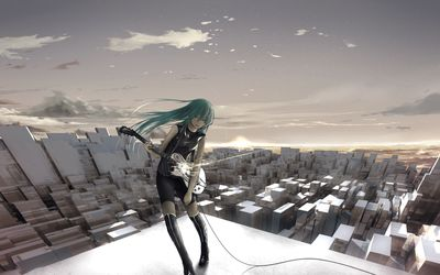 Hatsune Miku - Vocaloid [9] wallpaper
