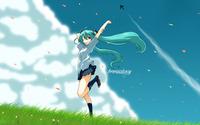 Hatsune Miku - Vocaloid [24] wallpaper 1920x1080 jpg