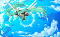 Hatsune Miku - Vocaloid [26] wallpaper 1920x1200 jpg