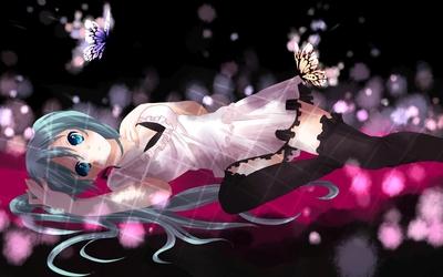 Hatsune Miku - Vocaloid [42] wallpaper
