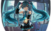 Hatsune Miku - Vocaloid [13] wallpaper 1920x1200 jpg