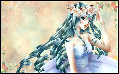 Hatsune Miku - Vocaloid [34] wallpaper