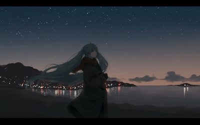 Hatsune Miku - Vocaloid [19] wallpaper