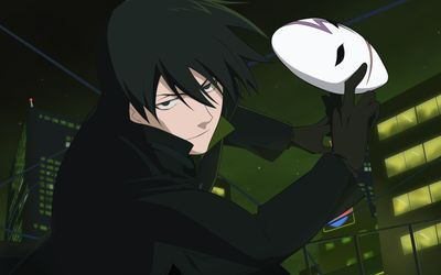 Hei with a mask - Darker than Black wallpaper