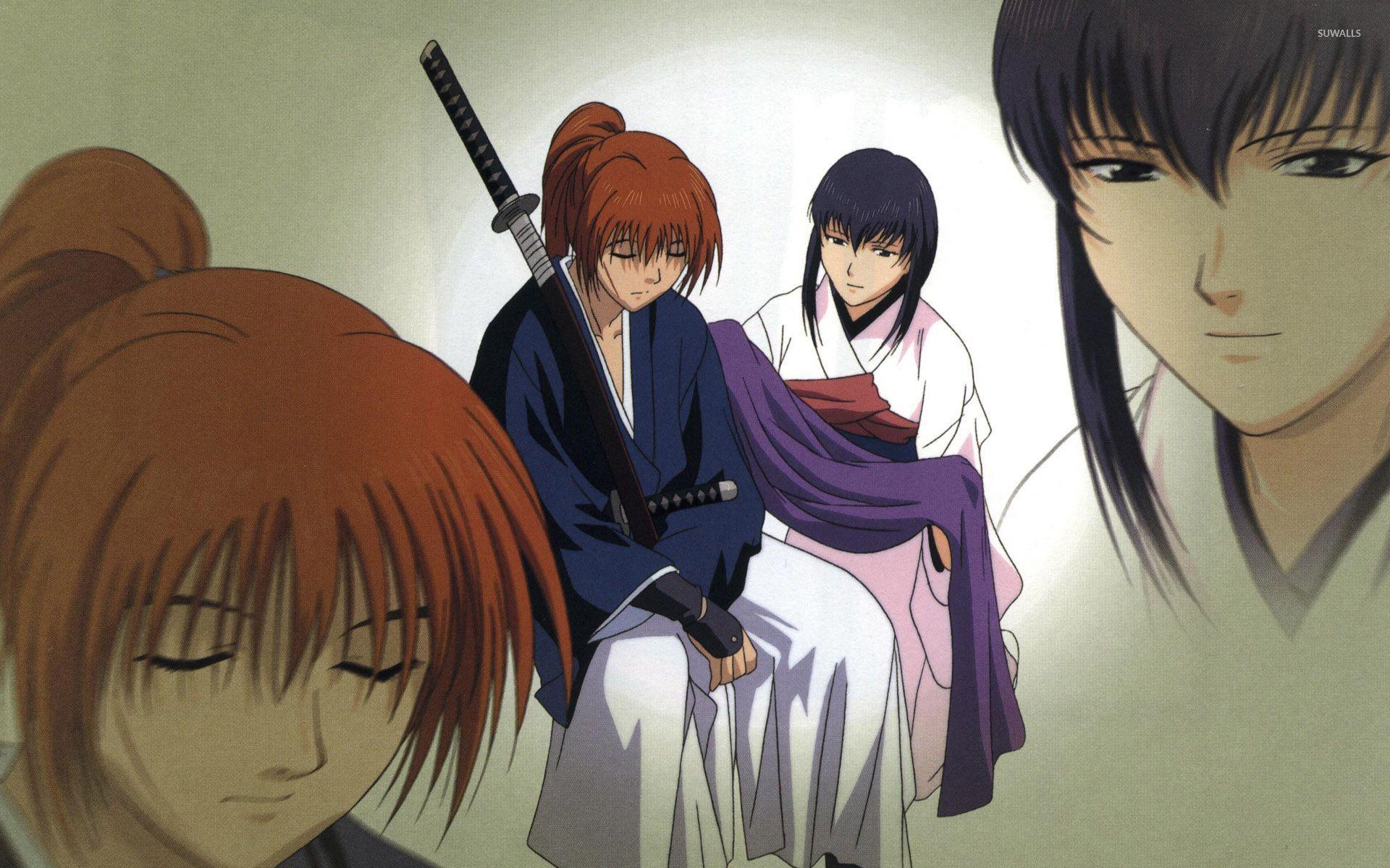 Himura And Kamiya Samurai X Wallpaper Anime Wallpapers