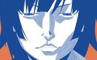 Hitagi Senjougahara portrait - Bakemonogatari wallpaper 2560x1440 jpg
