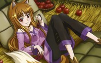 Holo in Spice and Wolf wallpaper 2560x1600 jpg