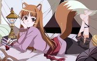 Holo lying in the bed - Spice & Wolf wallpaper 1920x1080 jpg