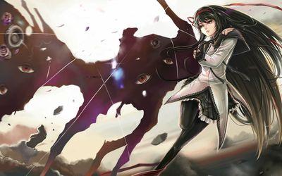 Homura Akemi - Puella Magi Madoka Magica wallpaper