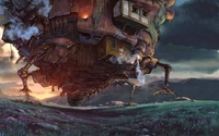 Howl's Moving Castle [2] wallpaper 1920x1200 jpg