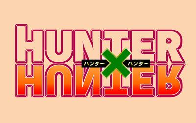 Hunter x Hunter logo wallpaper