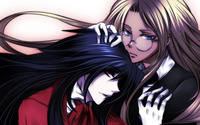 Integra and Alucard - Hellsing wallpaper 1920x1200 jpg