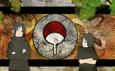Itachi Uchiha and Sasuke Uchiha wallpaper