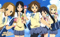 K-On! [5] wallpaper 2560x1600 jpg