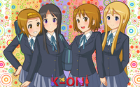 K-On! girls wallpaper 1920x1200 jpg