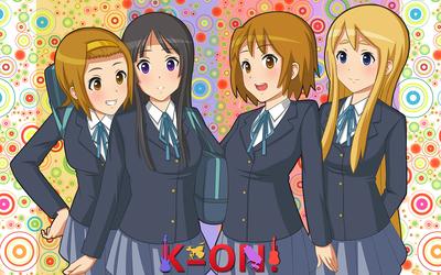 K-On! girls wallpaper