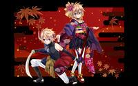 Kagamine Rin & Len wallpaper 2560x1600 jpg