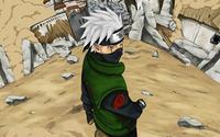 Kakashi Hatake - Naruto [2] wallpaper 2560x1600 jpg