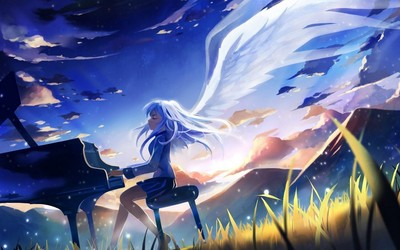 Kanade Tachibana - Angel Beats! wallpaper