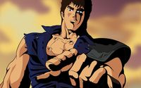Kenshiro - Fist of the North Star wallpaper 1920x1200 jpg