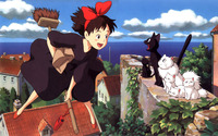 Kiki's Delivery Service wallpaper 2560x1600 jpg