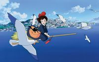 Kiki's Delivery Service [2] wallpaper 1920x1200 jpg