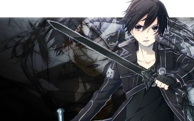 Kirito - Sword Art Online [4] wallpaper